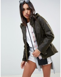 Coupe-vent olive Barbour