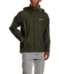 Coupe-vent olive Berghaus