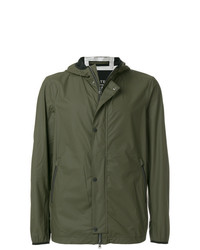 Coupe-vent olive Herno