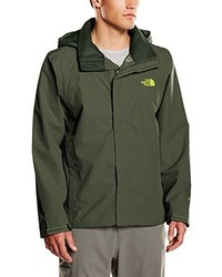 Coupe-vent olive The North Face