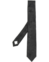 Cravate à étoiles noire Valentino Garavani