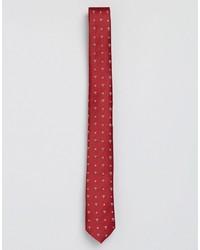 Cravate à étoiles rouge Asos