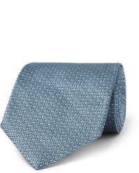 Cravate á pois bleu clair Tom Ford