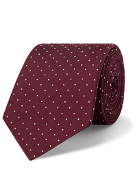Cravate á pois bordeaux Paul Smith