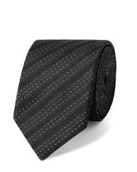 Cravate á pois noire et blanche Dolce & Gabbana