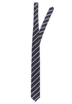 Cravate à rayures verticales bleu marine Jack & Jones