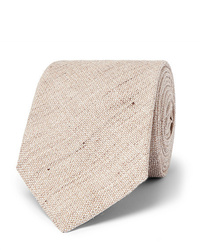 Cravate beige Kingsman