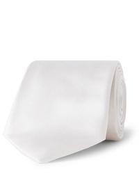 Cravate blanche Giorgio Armani