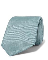 Cravate bleu clair Giorgio Armani