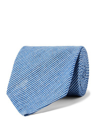Cravate bleu clair Rubinacci