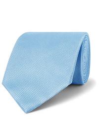 Cravate bleu clair Tom Ford