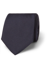 Cravate bleu marine Brioni