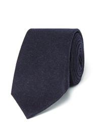 Cravate bleu marine Brunello Cucinelli