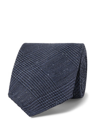 Cravate bleu marine Drake's