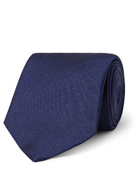 Cravate bleu marine Turnbull & Asser