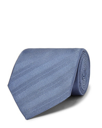 Cravate bleue Dunhill