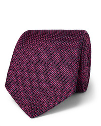 Cravate bordeaux Canali