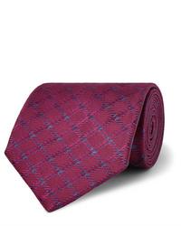 Cravate bordeaux Charvet
