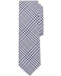 Cravate écossaise bleu clair