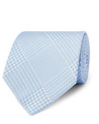 Cravate écossaise bleu clair Emma Willis