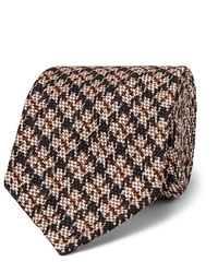 Cravate en laine beige Rubinacci