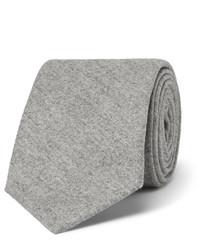 Cravate en soie grise Brunello Cucinelli