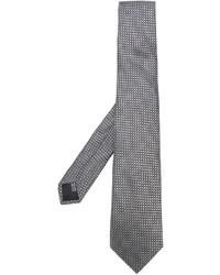 Cravate en soie grise Cerruti