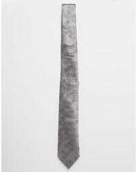 Cravate en soie grise Vivienne Westwood