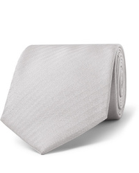 Cravate grise Brioni