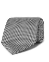 Cravate grise Ermenegildo Zegna
