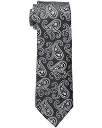 Cravate imprimée cachemire