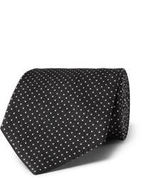 Cravate noir Tom Ford