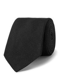 Cravate noire Lanvin