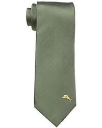 Cravate olive