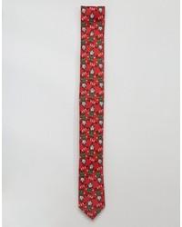 Cravate rouge Asos