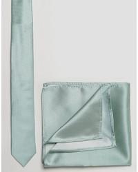 Cravate vert menthe Asos