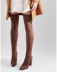 Cuissardes marron Missguided