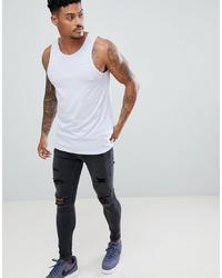 Débardeur bleu clair Nike