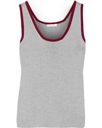 Débardeur en tricot gris Chloé