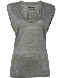 Débardeur gris Isabel Marant