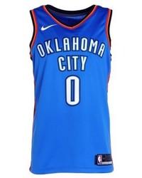 Débardeur imprimé bleu Nike