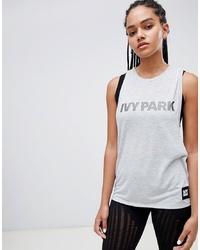 Débardeur imprimé gris Ivy Park