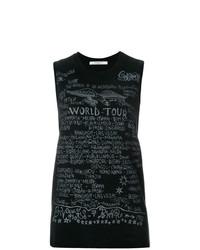 Débardeur imprimé noir Givenchy