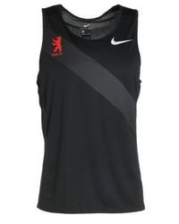 Débardeur imprimé noir Nike