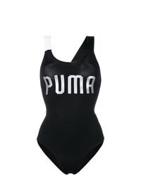 Débardeur imprimé noir Puma
