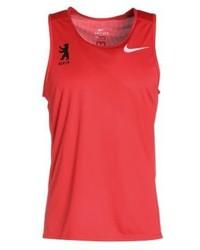 Débardeur imprimé rouge Nike
