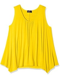 Débardeur jaune Exciteclothing