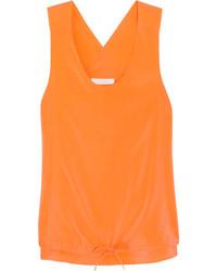 Comment porter un débardeur orange (18 tenues)