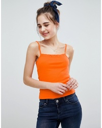 Débardeur orange ASOS DESIGN