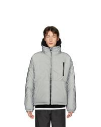 Doudoune argentée Givenchy